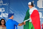 Silver Medalist Under-16 from Italy Leonardo Fioravanti. Credit: Michael Tweddle