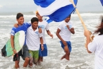 Team Nicaragua. Credit: ISA/ Michael Tweddle