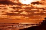 Sunset Jiquiliste. Credit: ISA/ Michael Tweddle