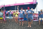 Team USA. Credit: ISA/ Rommel Gonzales