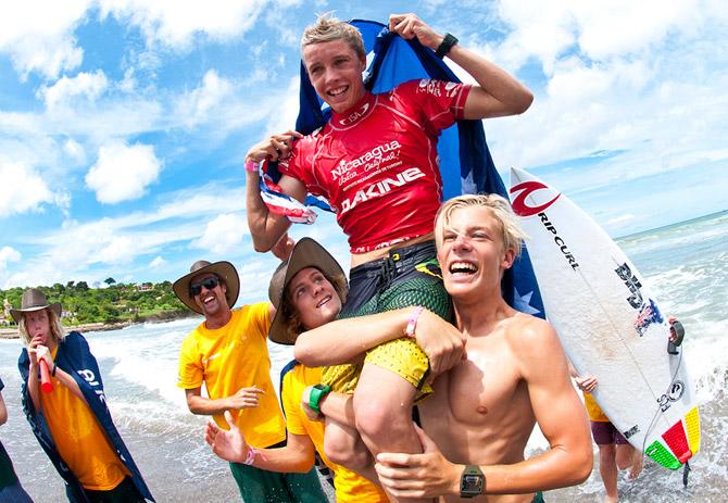 Jacob Wilcox from Australia. Credit: ISA/ Rommel Gonzales