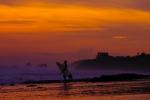 Sunset in Rancho Santana. Credit: ISA/ Rommel Gonzales