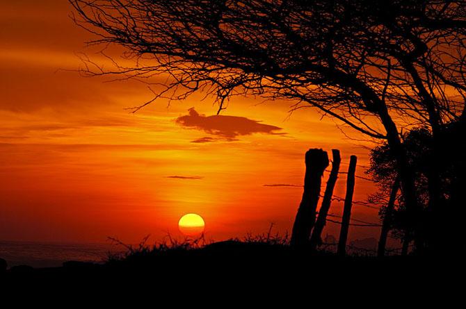 Sunset at Rancho Santana. Credit: ISA/ Rommel Gonzales