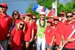 Team Costa Rica. Credit: Michael Tweddle