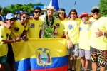 Team Ecuador. Credit: Michael Tweddle