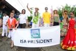 ISA President Fernando Aguerre and Florencia Gomez Gerbi. Credit: Michael Tweddle