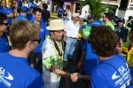 ISA Judges and ISA President Fernando Aguerre. Credit: Michael Tweddle