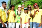 Team Jamaica. Credit: Michael Tweddle