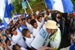 Team Nicaragua and ISA President Fernando Aguerre. Credit: Michael Tweddle