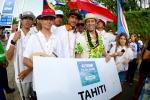 Team Tahiti. Credit: Michael Tweddle