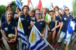 Team Uruguay and ISA President Fernando Aguerre. Credit: Michael Tweddle