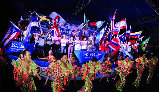 Opening Ceremony. Credit: ISA/ Rommel Gonzales
