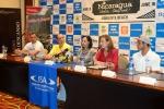 Dexter Ramirez, ISA President Fernando Aguerre, Mayra Salinas, Lucy Valenti and Mathew Blevin. Credit: ISA/ Michael Tweddle