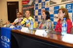 Dexter Ramirez, ISA President Fernando Aguerre, Mayra Salinas and Lucy Valenti,. Credit: ISA/ Michael Tweddle