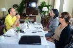 ISA President Fernando Aguerre and Mayra Salinas. Credit: ISA/ Michael Tweddle