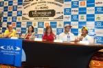 ISA President Fernando Aguerre, Mayra Salinas, Lucy Valenti, Mathew Blevin and Jackson Obando. Credit: ISA/ Michael Tweddle