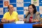 Fernando Aguerre and Mayra Salinas. Credit: ISA/ Michael Tweddle