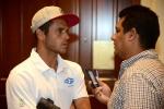Nicaragua Coach Mathew Blevin. Credit: ISA/ Michael Tweddle