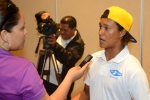 Jackson Obando from Team Nicaragua. Credit: ISA/ Michael Tweddle