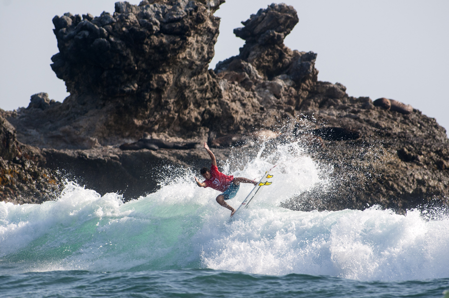 France's Nomme Mignot. Photo: ISA/ Rommel Gonzales