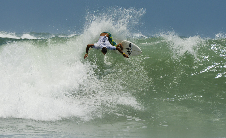 Boy´s U-18 World Champion Luan Wood from Brazil. Photo: ISA/Michael Tweddle
